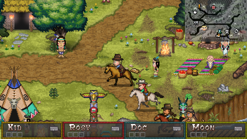 Boot Hill Bounties Game